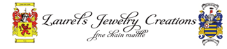 Laurel's Elegant Chain Mail Jewelry